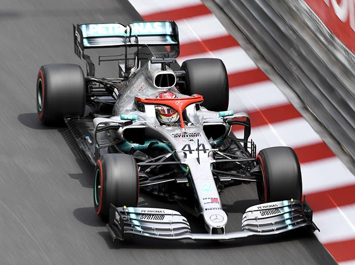 Lewis Hamilton will start the Monaco Grand Prix from the pole. (Mercedes Photo)