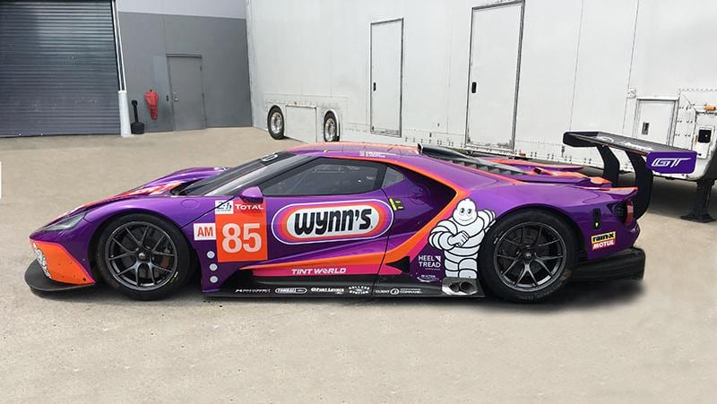 The Keating Motorsports Le Mans entry.