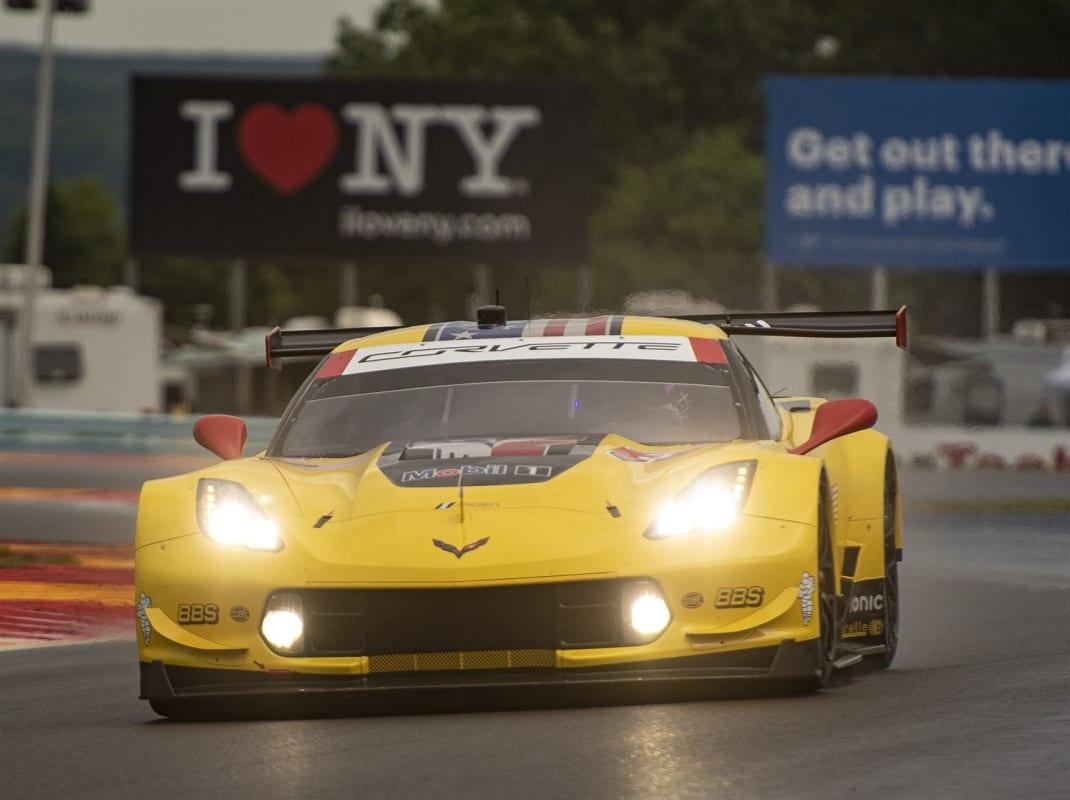 Corvette Tops Ford In Glen GT Qualifying