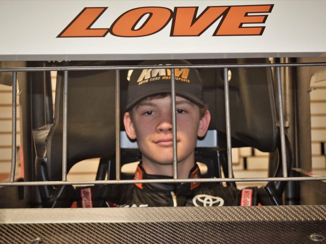 Speed Week Diary: Jesse Love Raring To Go