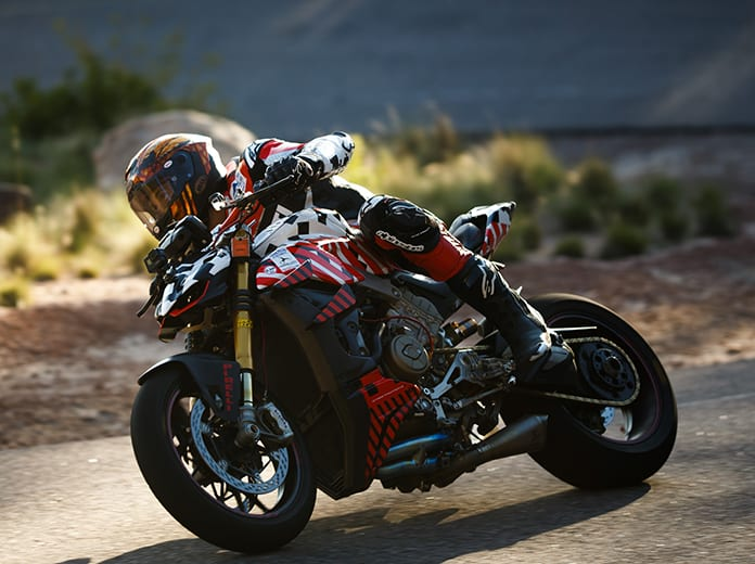 Carlin Dunne, shown here earlier this week at Pikes Peak, died Sunday during the 97th running of the Pikes Peak Int'l Hill Climb. (Ducati Photo)