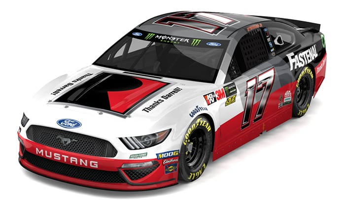 Ricky Stenhouse Jr. will drive a Darrell Waltrip themed race car this weekend at Sonoma Raceway.