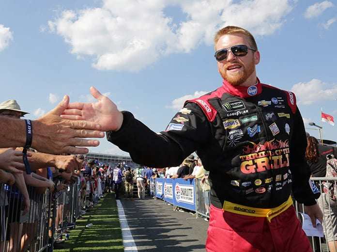Chris Buescher's return to Roush Fenway Racing has allowed Jack Roush to correct, in his words, a mistake he made a few years ago by letting him leave. (HHP/Tami Kelly Pope Photo)