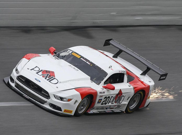 Chris Dyson topped Trans-Am Series qualifying on Friday at Daytona Int'l Speedway.