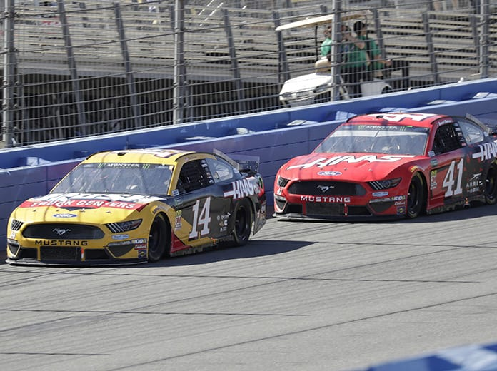 Stewart-Haas Racing has announced its crew chief and driver pairings for the 2020 NASCAR Cup Series season. (HHP/Harold Hinson Photo)