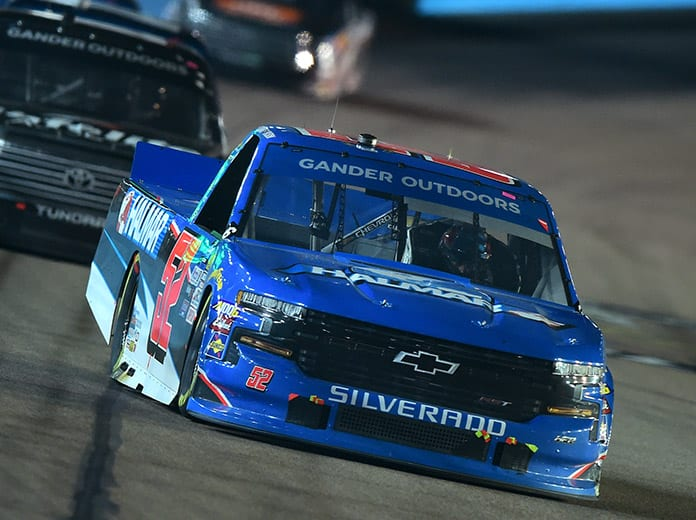 Halmar Friesen Racing will shift from Chevrolet to Toyota in the NASCAR Gander RV & Outdoors Truck Series in 2020. (NASCAR Photo)