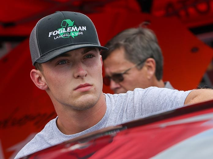 Tate Fogleman has joined Young's Motorsports for the NASCAR Gander RV & Outdoors Truck Series season. (Adam Fenwick Photo)