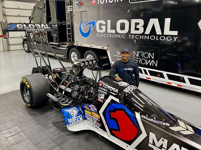 Don Schumacher Racing has partnered with Antron Brown to form AB Motorsports. (DSR Photo)