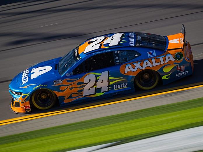 William Byron was fastest during Friday's Daytona 500 practice. (HHP/Chris Owens Photo)