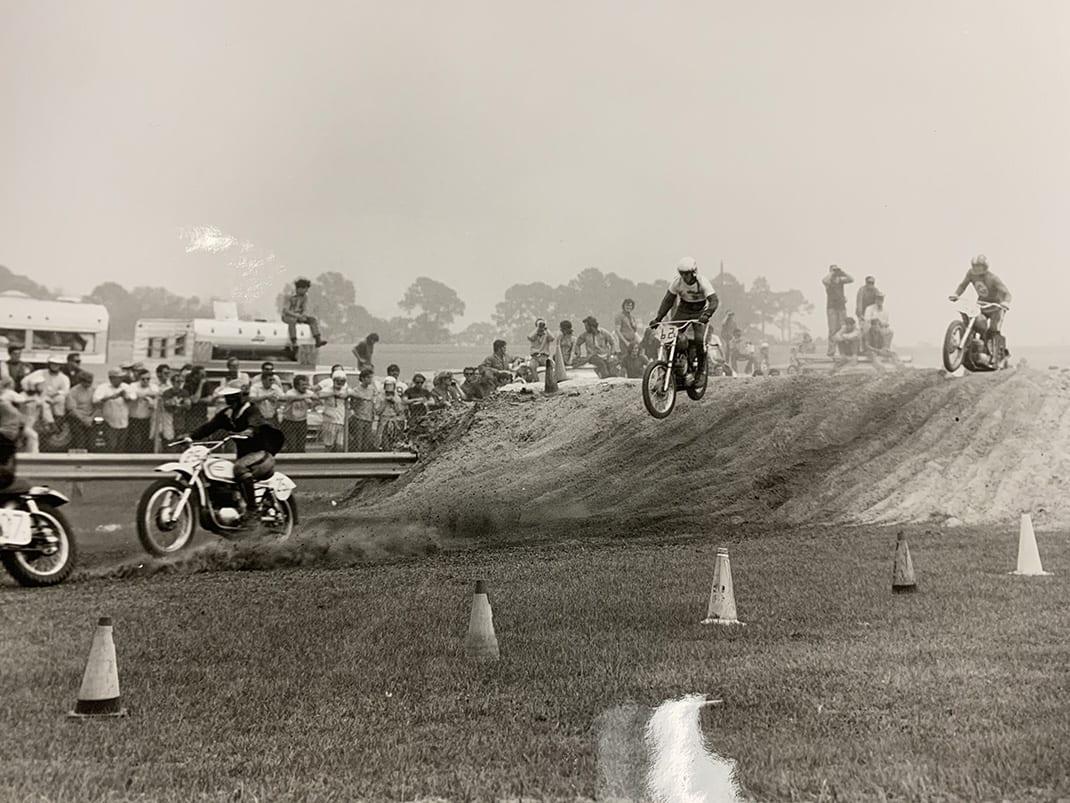 Vintage Supercross at Daytona. (Gary Bailey Photo0