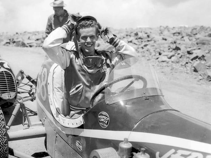 Bobby Unser was the king of the Pikes Peak Int'l Hill Climb during the 1960s. (NSSN Archives Photo)