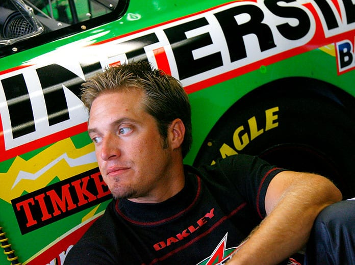 J.J. Yeley has had a long NASCAR career, but he was also a successful short-track competitor. (NASCAR Photo)