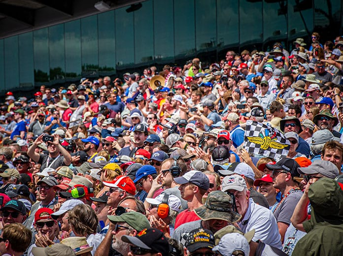 Indianapolis Motor Speedway will limit the fan capacity for the 104th running of the Indianapolis 500 to 50 percent. (IMS Photo)