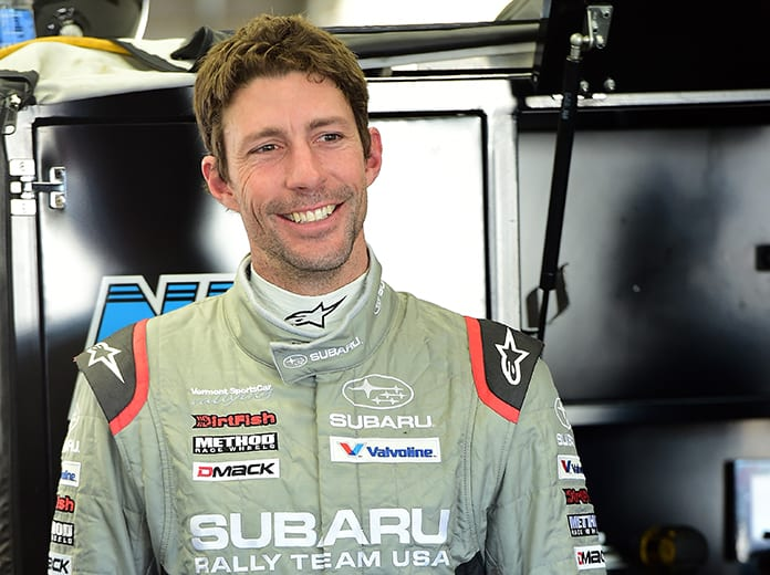 Travis Pastrana is competing in Saturday's NASCAR Gander RV & Outdoors Truck Series race at Kansas Speedway. (NASCAR Photo)