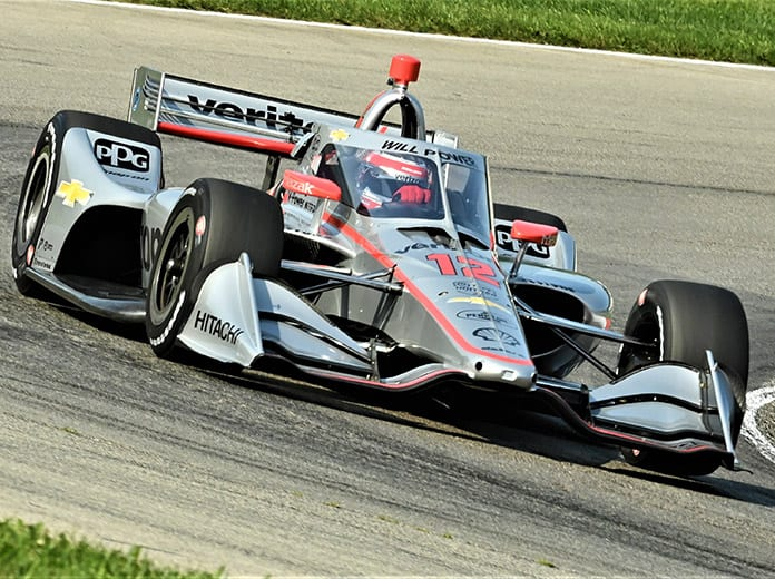 Will Power raced to a dominant victory Saturday at the Mid-Ohio Sports Car Course. (Al Steinberg Photo)