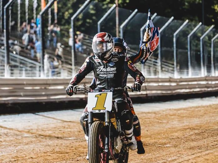 Briar Bauman won Friday's Williams Grove Half-Mile I event at Williams Grove Speedway.