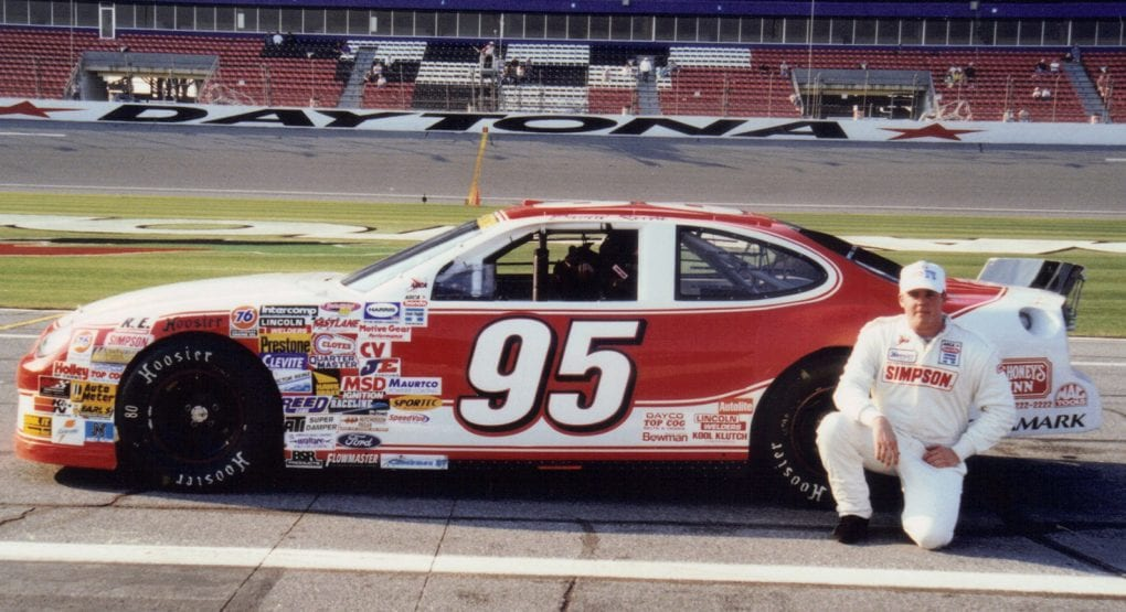 David Keith, pictured on Feb. 13, 2000, before the Pro2Call 200 at Daytona International Speedway, a race he went on to win. Keith died Thursday at age 46. (ARCA Photo)
