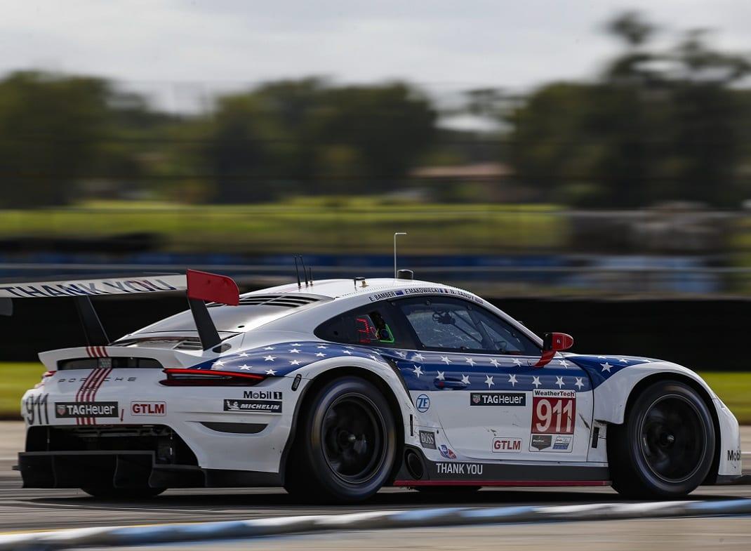 Porsche Departs GT Le