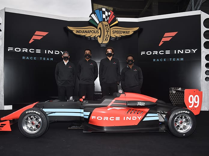 Force Indy will lead IndyCar's Race for Equality and Change charge in the Cooper Tires USF2000 Championship. (IndyCar Photo)
