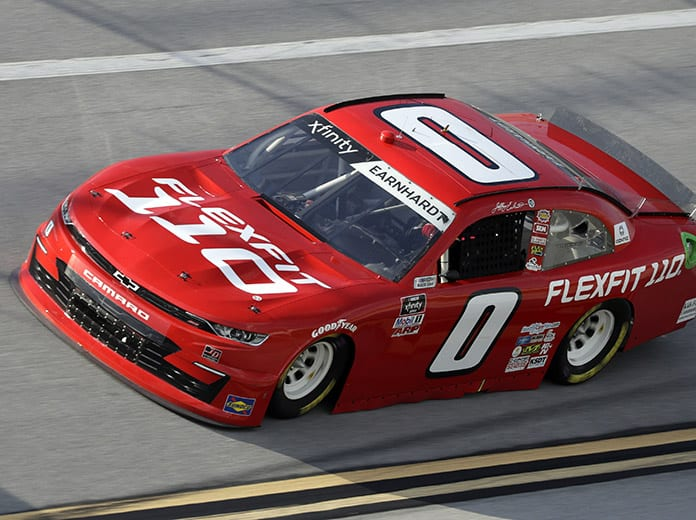 Jeffrey Earnhardt will return to JD Motorsports for the full NASCAR Xfinity Series schedule next year. (HHP/Harold Hinson Photo)