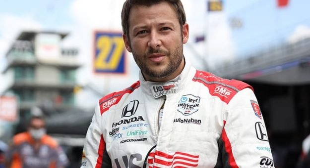 Marco Andretti isn't likely to be at many NTT IndyCar Series races this year in any capacity. (IndyCar Photo)