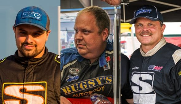 Davey Callihan, Willie Mullins and Robert Bruce will test for Mullins Racing during the upcoming ARCA Menards Series pre-season test at Daytona International Speedway on Jan. 15-16.