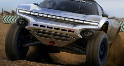 GMC & CGR Team Up For Extreme E