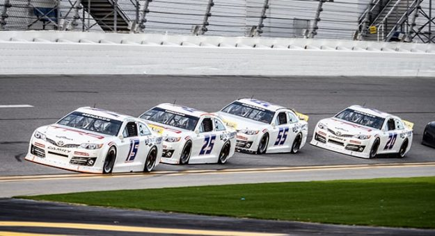 ARCA Menards Series testing at Daytona Int'l Speedway concluded on Saturday. (Jason Reasin Photo)