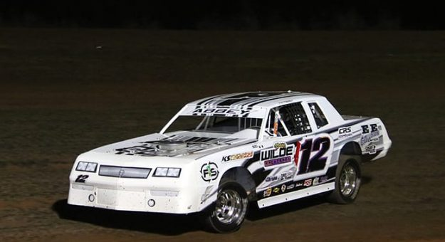 Sniper Speed Lone Star Tour for IMCA Sunoco Stock Cars Champion Westin Abbey. (Stacy Kolar Photo)