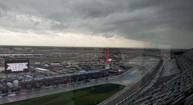 Rain Halts 63rd Daytona
