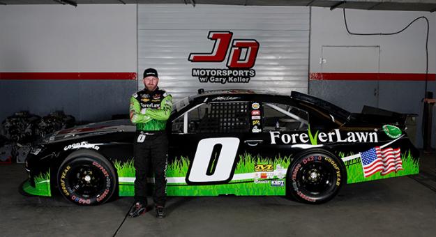 ForeverLawn will sponsor Jeffrey Earnhardt during more than half of the NASCAR Xfinity Series season.