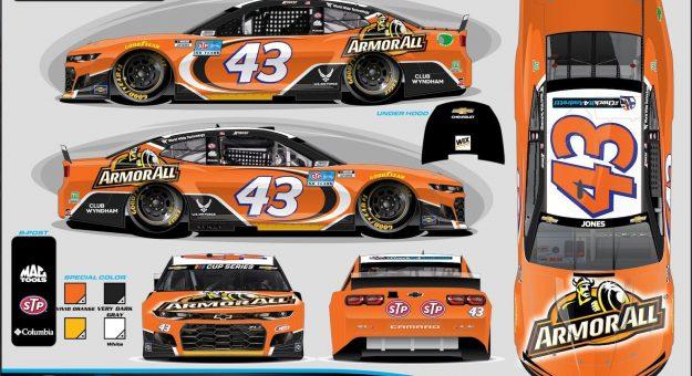 Armor All will support Richard Petty Motorsports and Erik Jones during the Daytona 500.