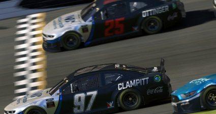 Clampitt Nips Ottinger In Thrilling eNASCAR Clash