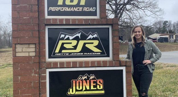 Brittney Zamora will drive for Rette Jones Racing during the ARCA Menards Series opener at Daytona Int'l Speedway.