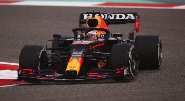 2021 F1 Bahrain Testing F Max Verstappen Action Red Bull Photo