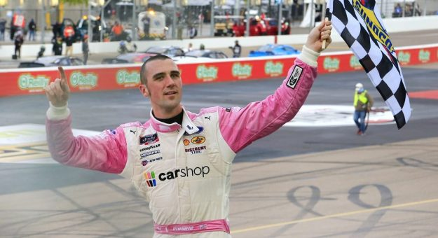 March 13, 2021: #22: Austin Cindric, Team Penske, Ford Mustang CarShop  During the Call 811 Before You Dig 200 at Phoenix Raceway in Phoenix, AZ  (HHP/Jim Fluharty)