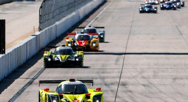 #7 VOLT Racing with Archangel Ligier JS P320, P3-1: Trent Hindman, Alan Brynjolfsson
