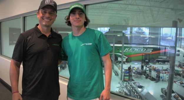 Manuel Sulaiman (right) has joined Juncos Racing for the upcoming Indy Pro 2000 campaign.