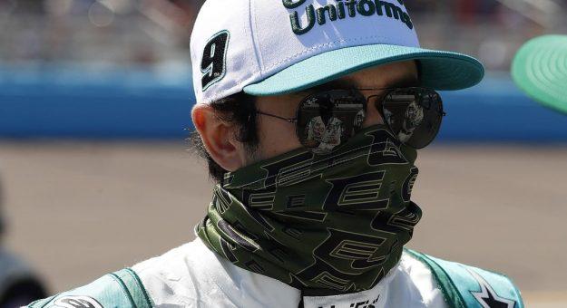 March 14, 2021: #9: Chase Elliott, Hendrick Motorsports, Chevrolet Camaro UniFirstat Phoenix Raceway in Phoenix AZ. (HHP/Harold Hinson)