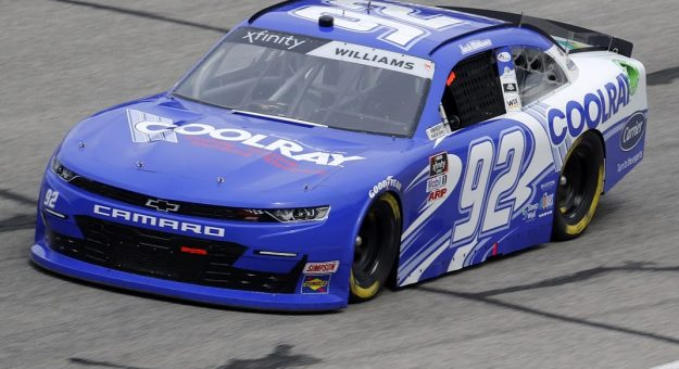 HAMPTON, GEORGIA - JUNE 06: Josh Williams, driver of the #92 Coolray Heating & AC Chevrolet, drives during the NASCAR Xfinity Series EchoPark 250 at Atlanta Motor Speedway on June 06, 2020 in Hampton, Georgia. (Photo by Chris Graythen/Getty Images) | Getty Images