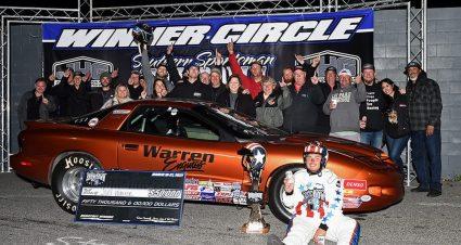 Warren Cashes $50,000 Showdown Check