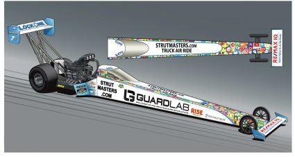 Ashley Debuts GuardLab Dragster At Gatornationals