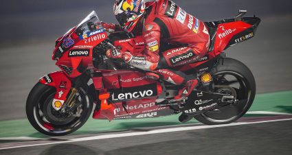 Miller Leads Ducati Sweep In Doha G.P. Practice