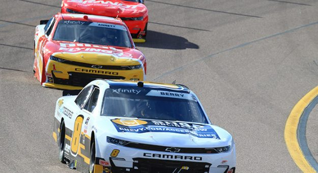 March 13, 2021: #8: Josh Berry, JR Motorsports, Chevrolet Camaro Chevrolet Accessories  During the Call 811 Before You Dig 200 at Phoenix Raceway in Phoenix, AZ  (HHP/Jim Fluharty)