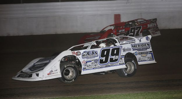 The World of Outlaws Morton Building Late Model Series will visit Boone (Iowa) Speedway for the first time during the inaugural Hawkeye 100 May 1. (WoO Photo)