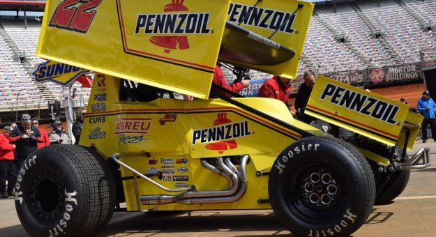 Jac Haudenschild will carry Pennzoil sponsorship and a throwback scheme during his final season of sprint car racing. (Jacob Seelman Photo)