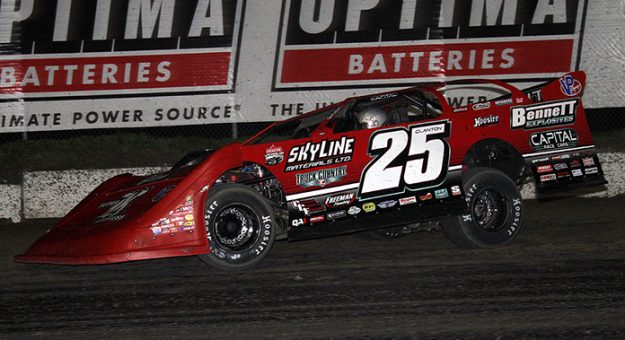 Shane Clanton has committed to running with the Lucas Oil Late Model Dirt Series this season. (Jim Denhamer Photo)