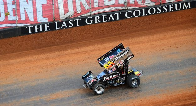 Many World of Outlaws teams have built special cars just for this week's race at Bristol Motor Speedway. (Jacob Seelman photo)