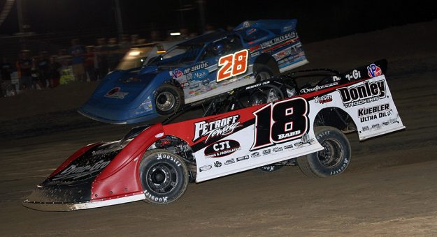 A new championship format and points structure has been announced for the DIRTcar Summer Nationals. (Jim Denhamer photo)