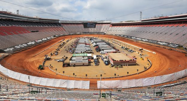The Bristol Throwdown will conclude Sunday after rain halted Saturday's planned proceedings. (Paul Arch photo)